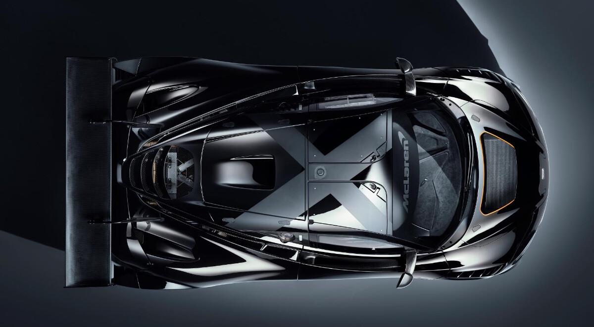 The McLaren 720S GT3X Top View