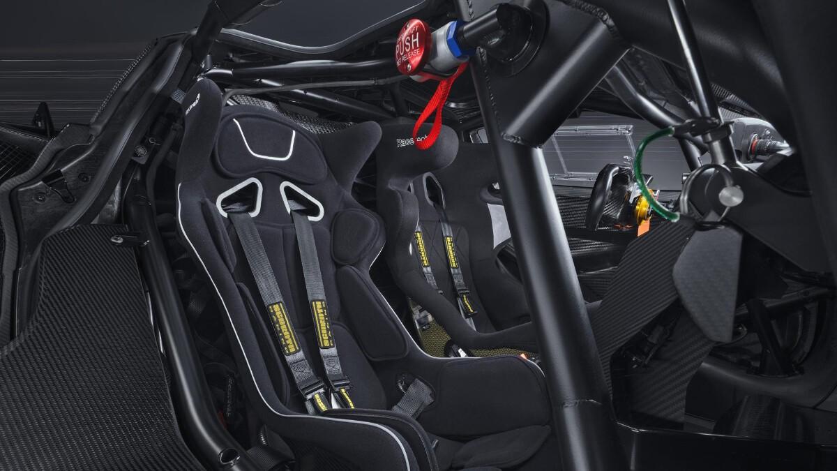 The McLaren 720S GT3X Interior