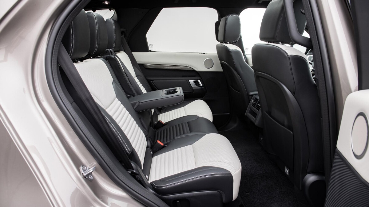 The Land Rover Discovery Rear Passenger Seats
