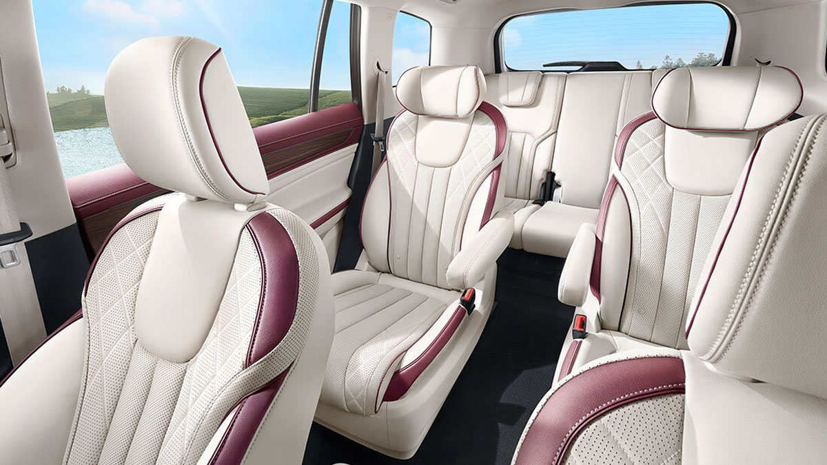 The Ford Equator Rear Passenger Seats
