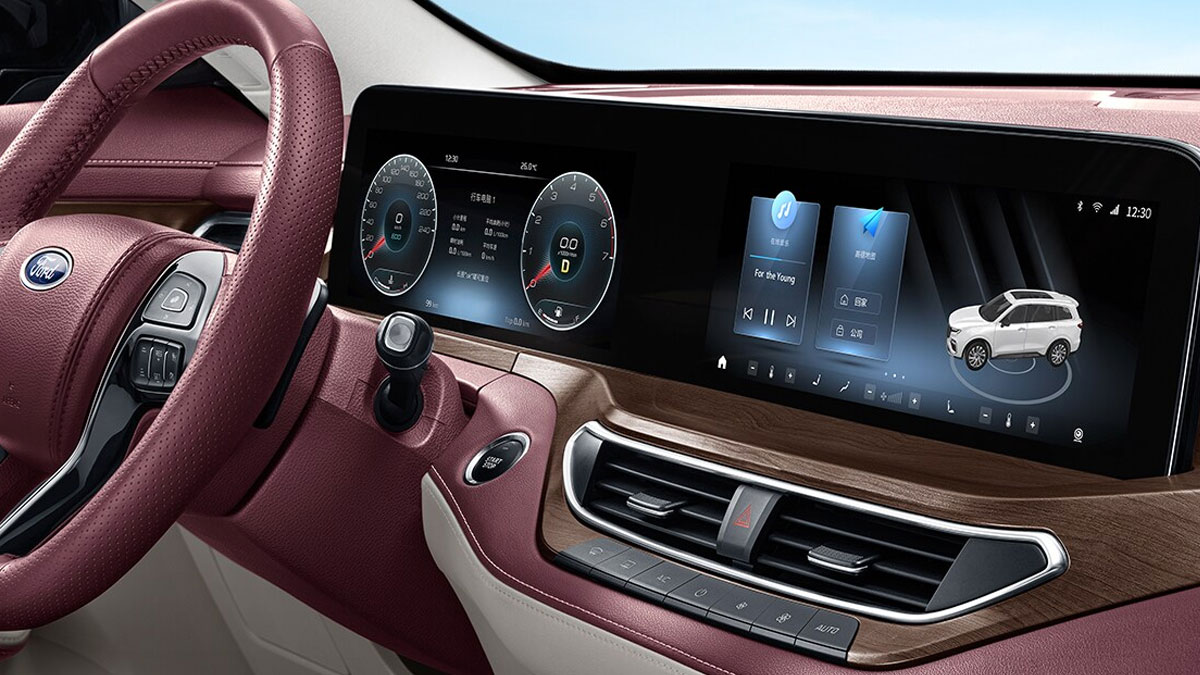 The Ford Equator Odometer and Dashboard Controls