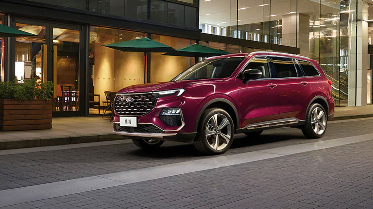 Ford unveils new six-seater Equator in China