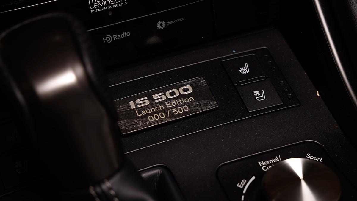 The Lexus IS500F Model Number