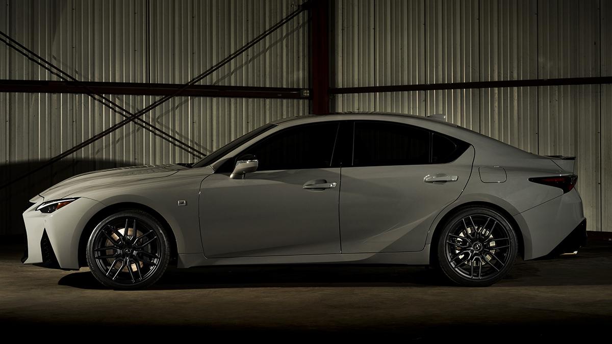 The Lexus IS500F