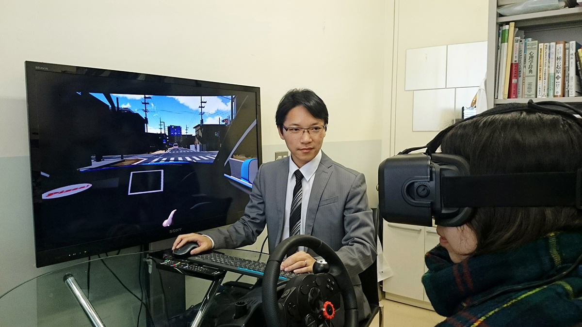 The Nissan Safety Lab Using VR for Simulating Tests