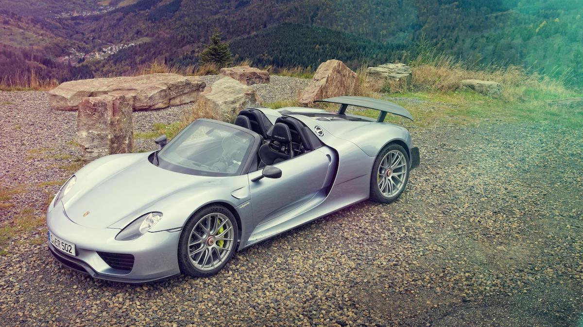 The Porsche Carrera GT