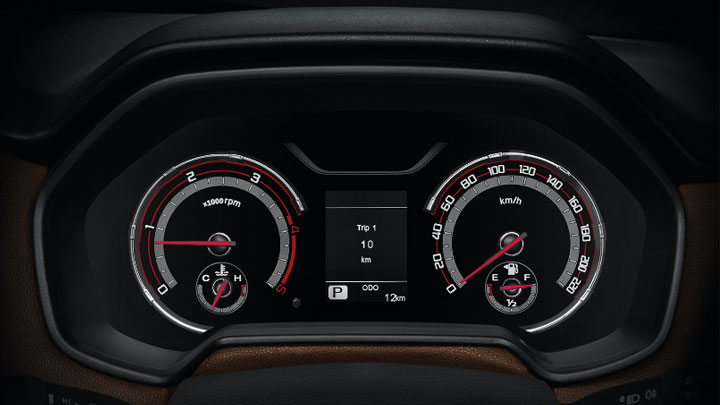 The 2021 MG Extender Odometer