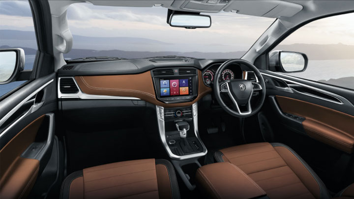The 2021 MG Extender Dashboard