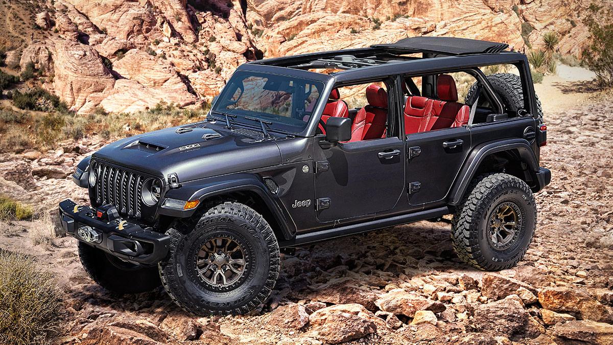 The Jeep Wrangler Rubicon 392
