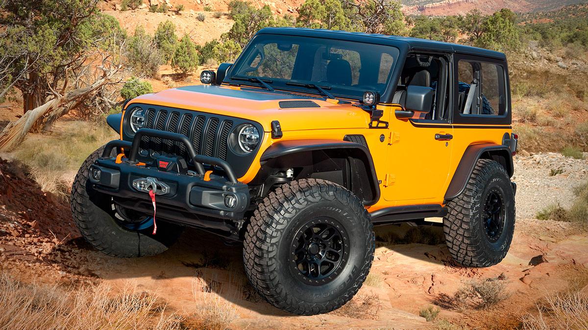 The Jeep Orange Peelz
