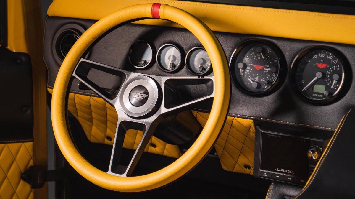 The Mil-Spec M1-R Steering Wheel