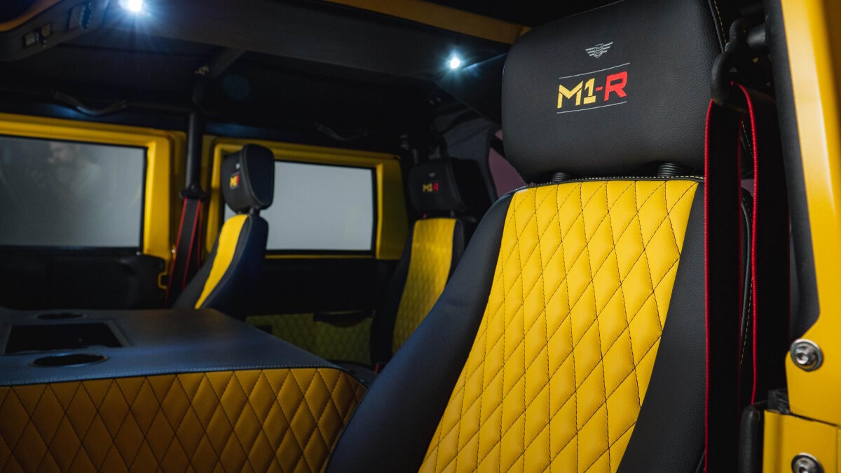 The Mil-Spec M1-R Passenger Seats