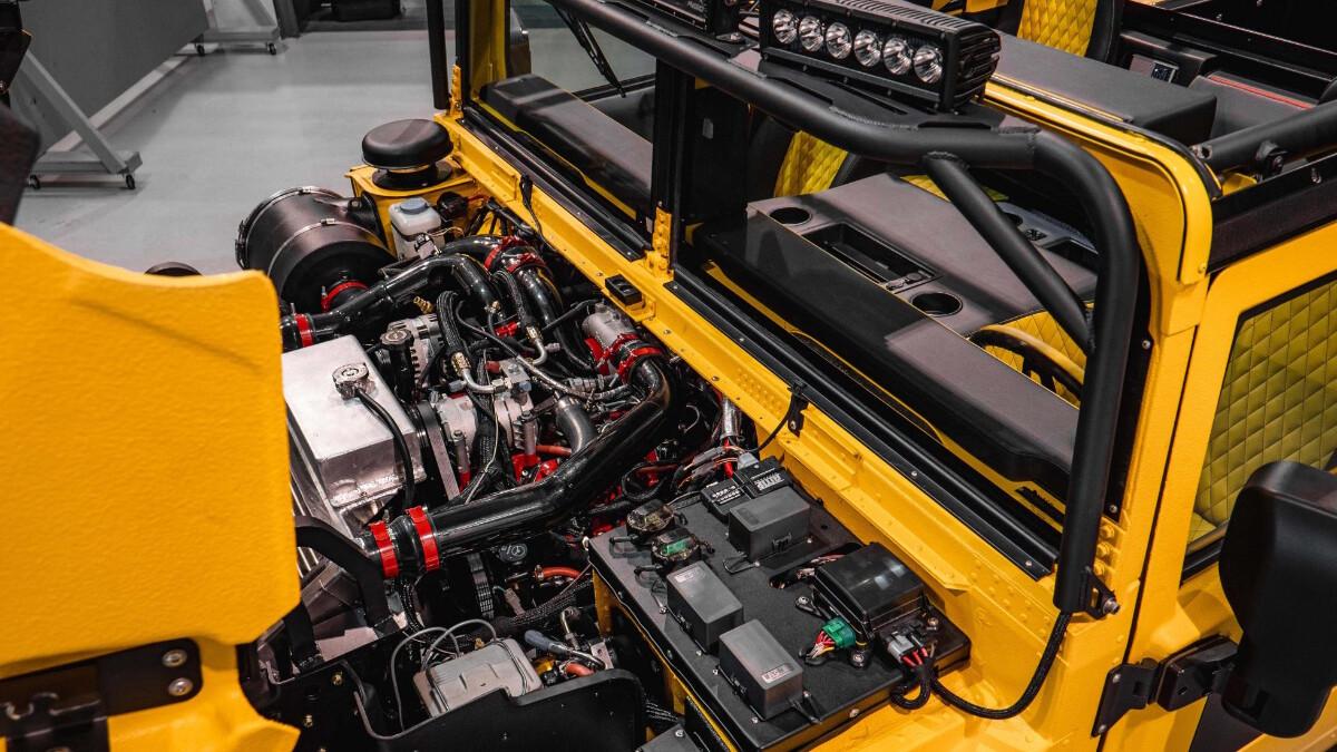 The Mil-Spec M1-R Engine