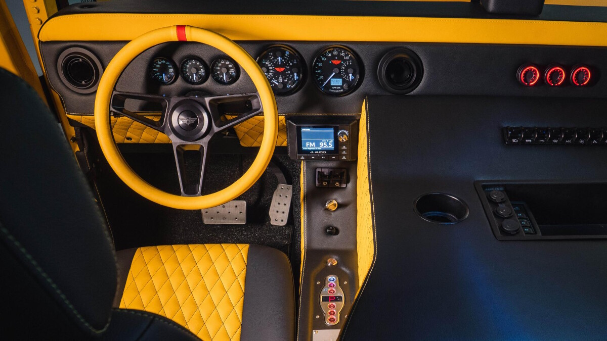 The Mil-Spec M1-R Driver's Seat
