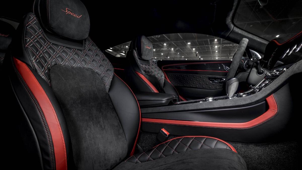 The Bentley Continental GT Speed Front Passenger Seats