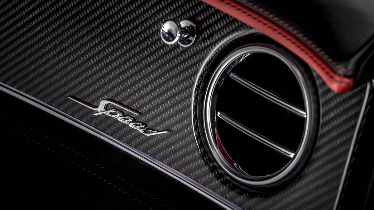 The Bentley Continental GT Speed Airconditioning vents