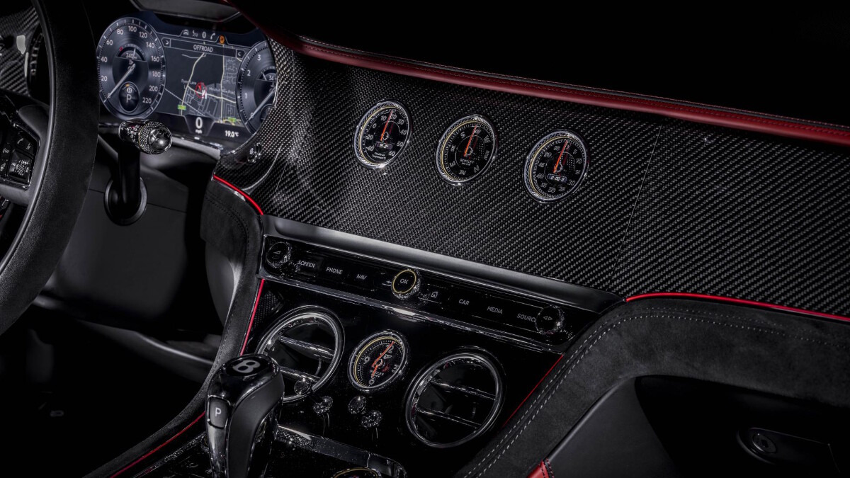 The Bentley Continental GT Speed Odometers