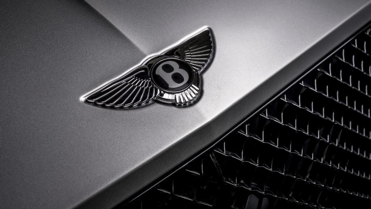 The Bentley Continental GT Speed Crest