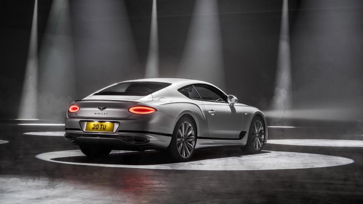 The Bentley Continental GT Speed