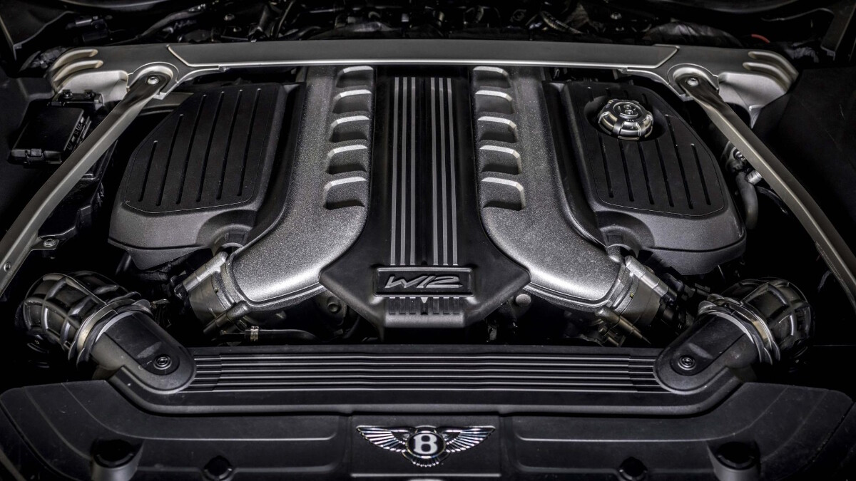 The Bentley Continental GT Speed Engine