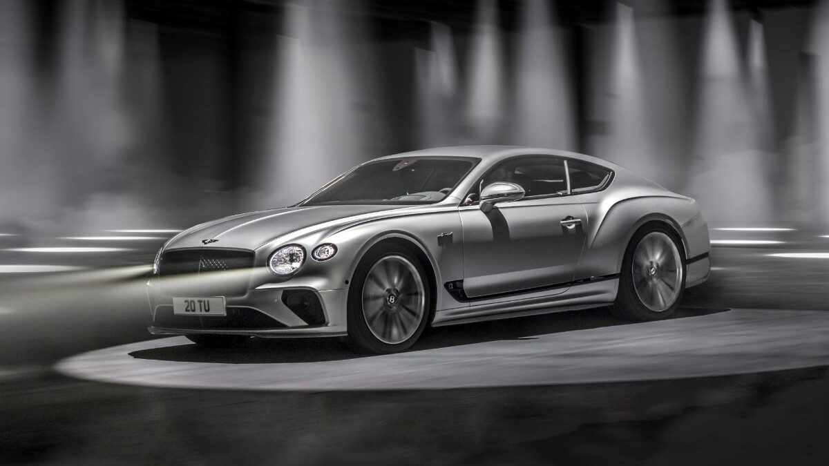 The Bentley Continental GT Speed Angled Front View