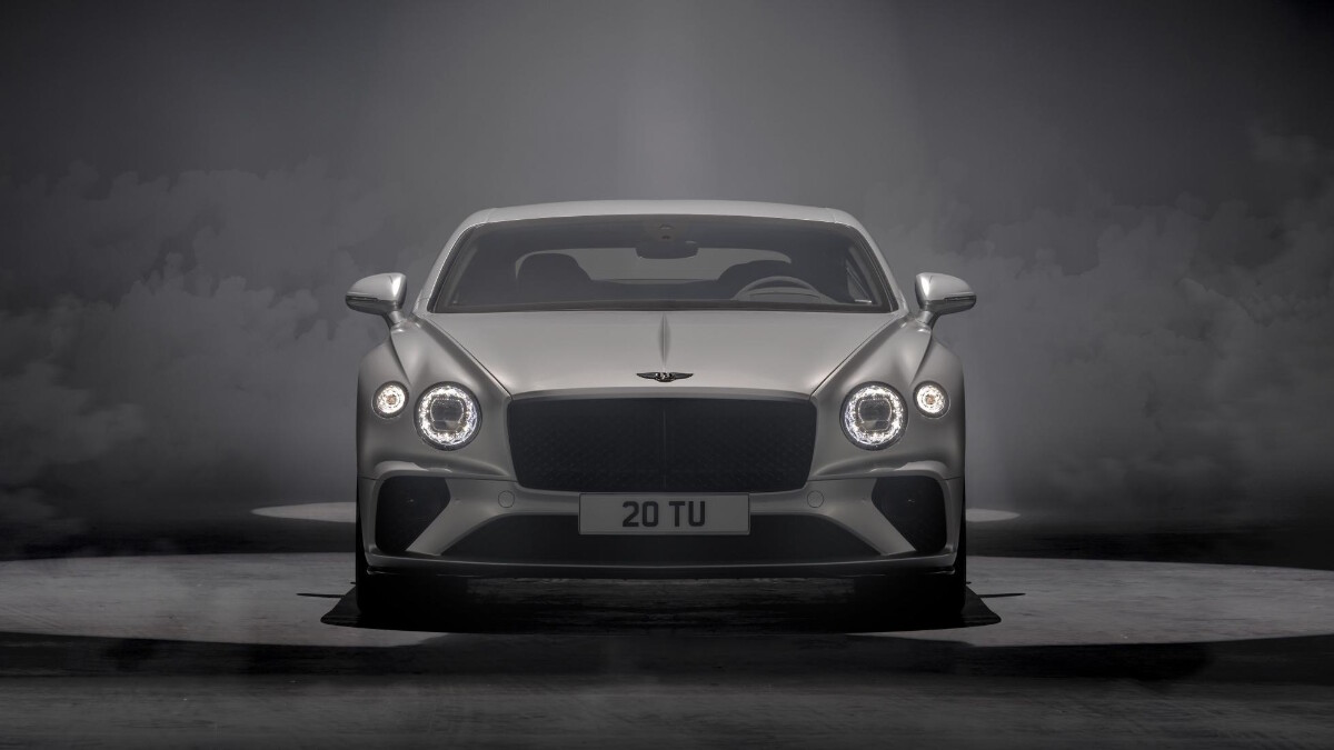 The Bentley Continental GT Speed Front View