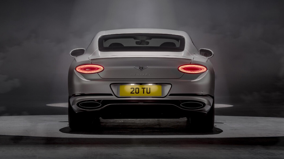 The Bentley Continental GT Speed Rear View