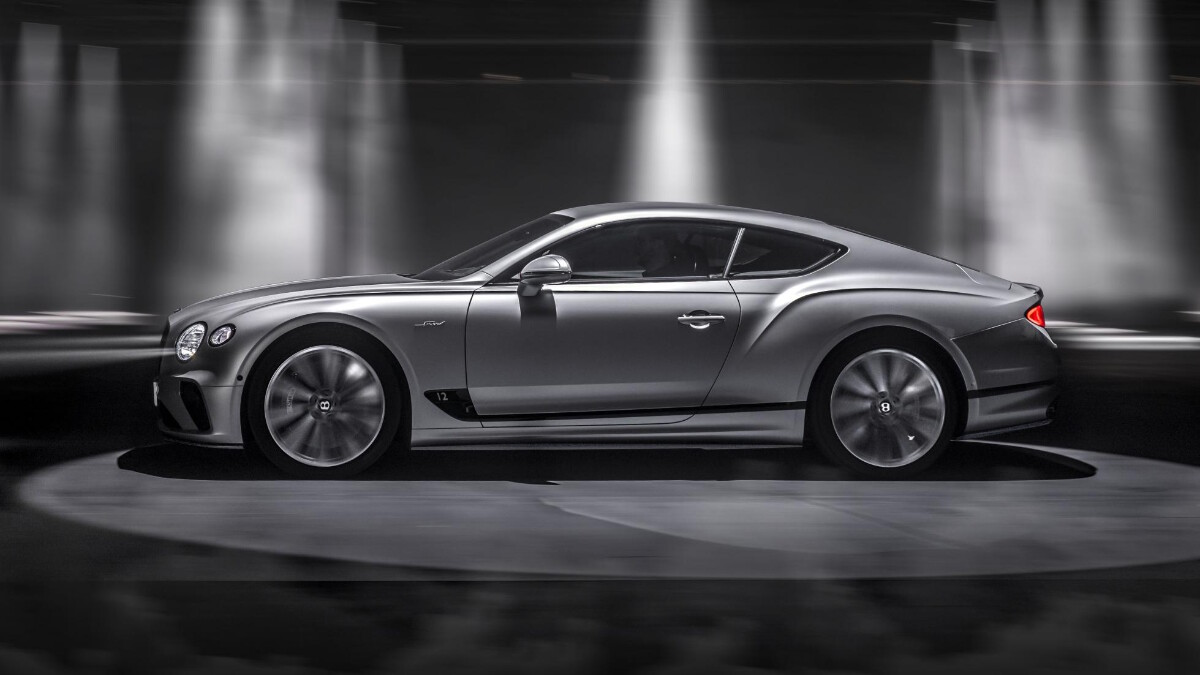 The Bentley Continental GT Speed  Profile