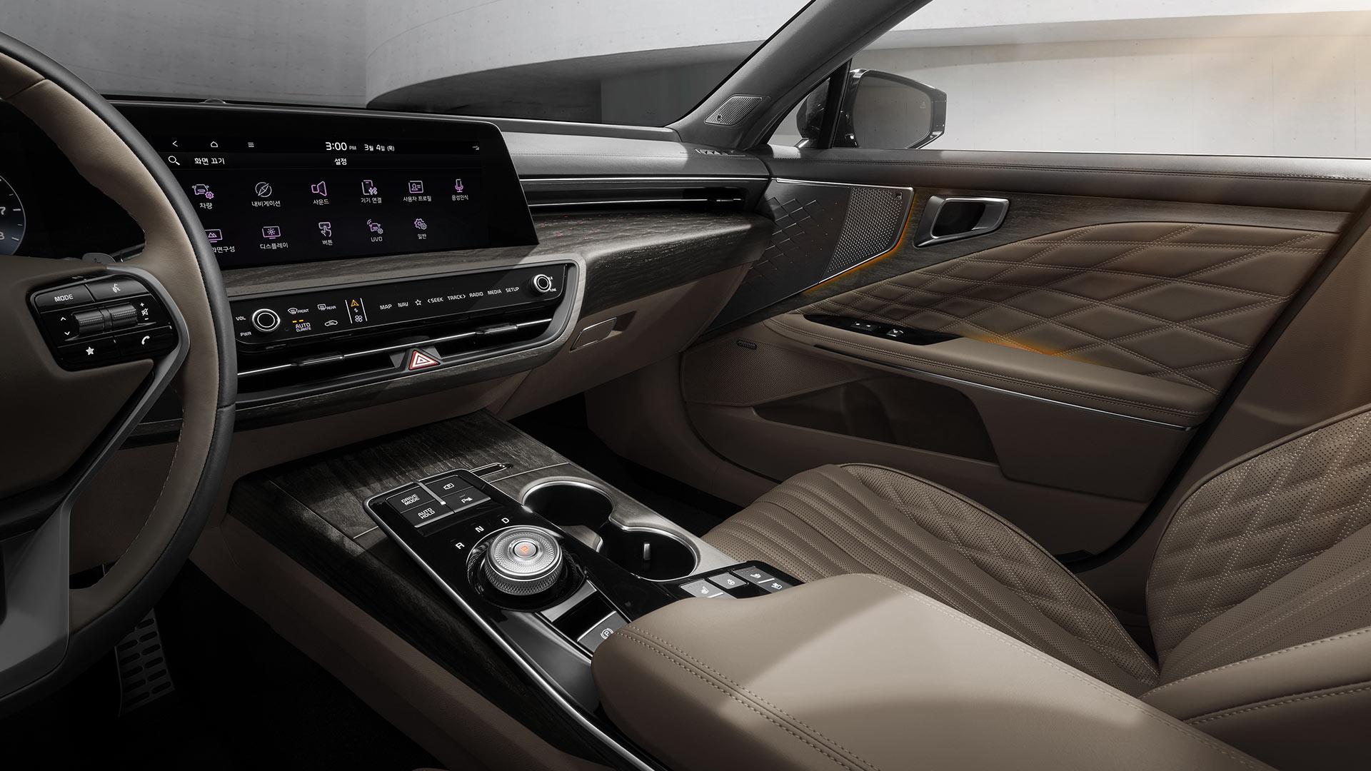 The Kia K8 Front Passenger Seat