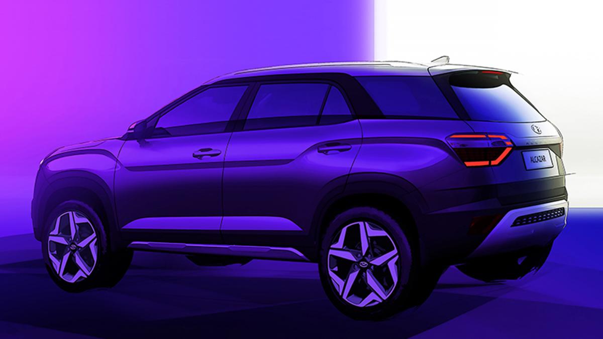 Hyundai teases its new seven-seater, the Alcazar