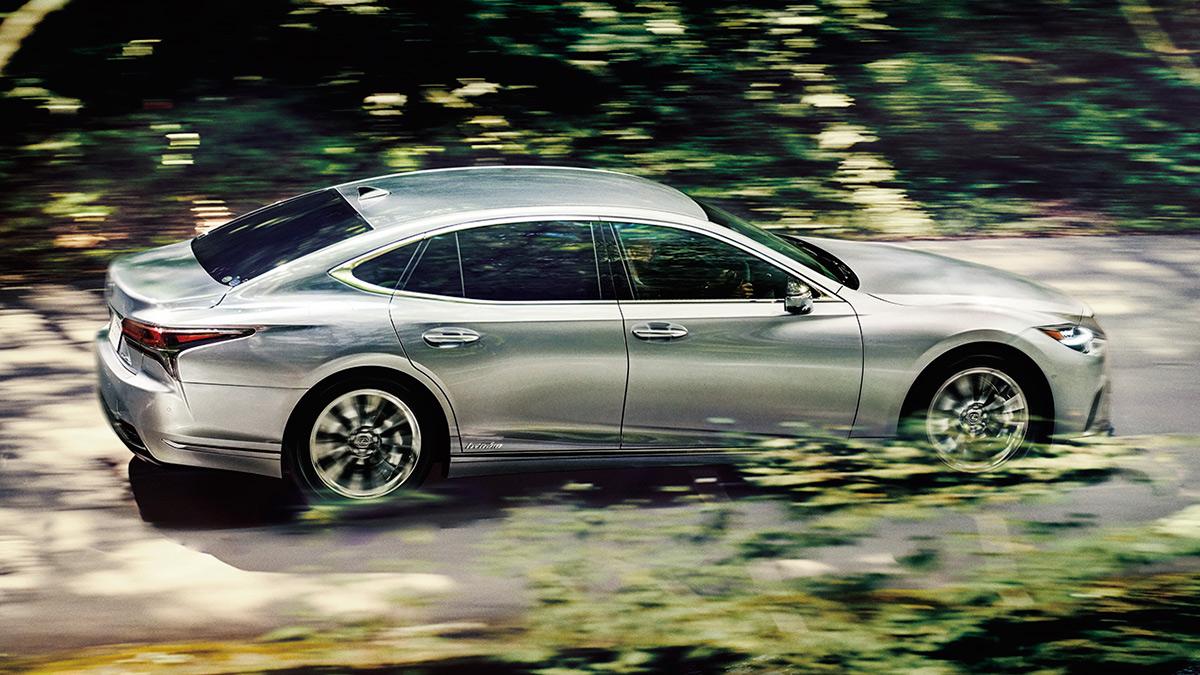 The Lexus LS