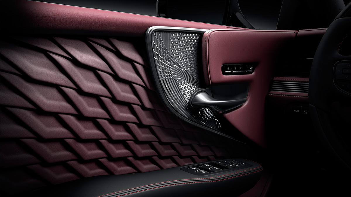 The Lexus LS Door Interior