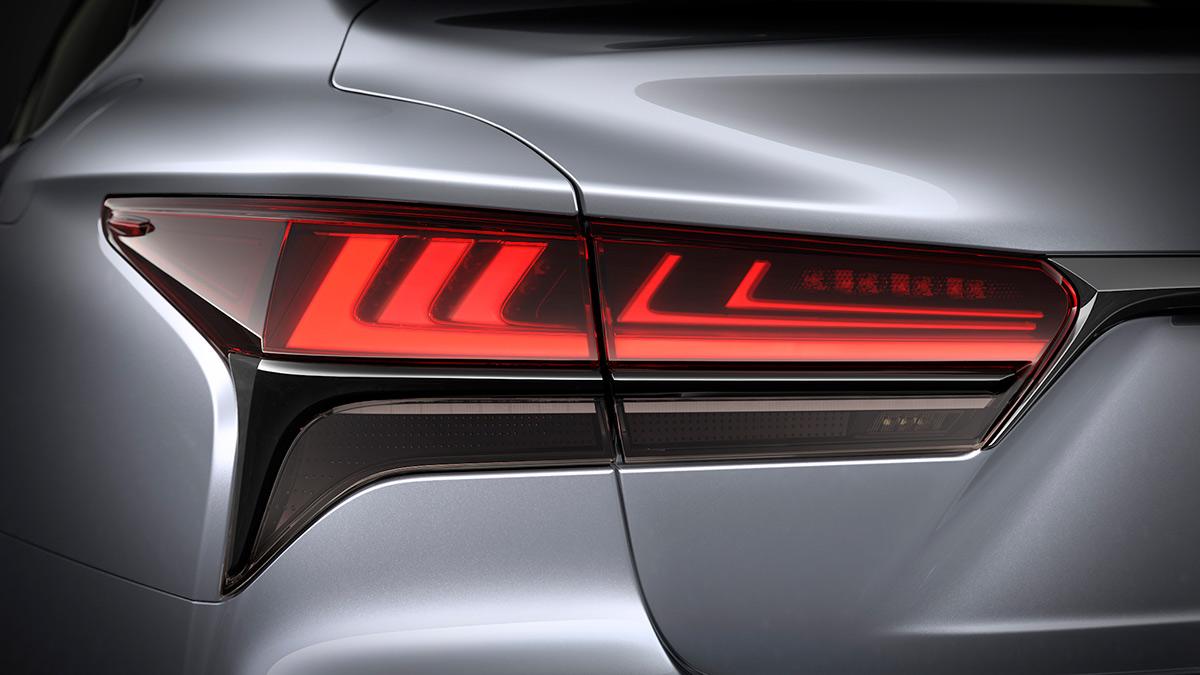 The Lexus LS Tail Light