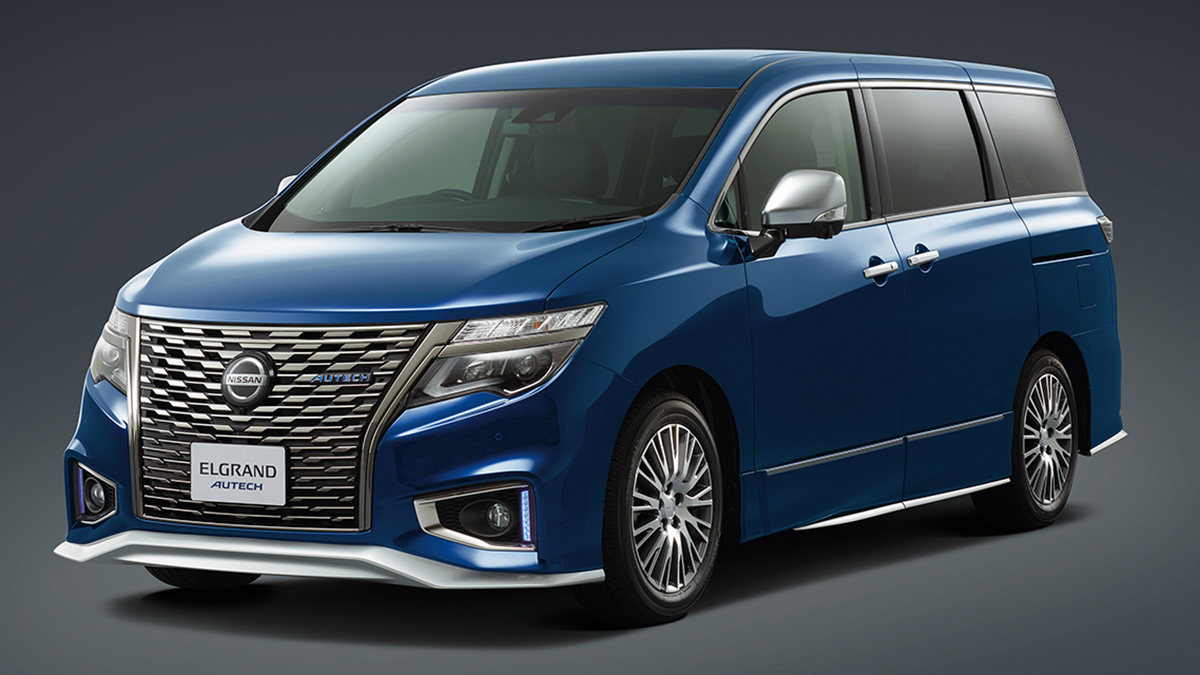 Check out Autech's stylish work on the Nissan Elgrand