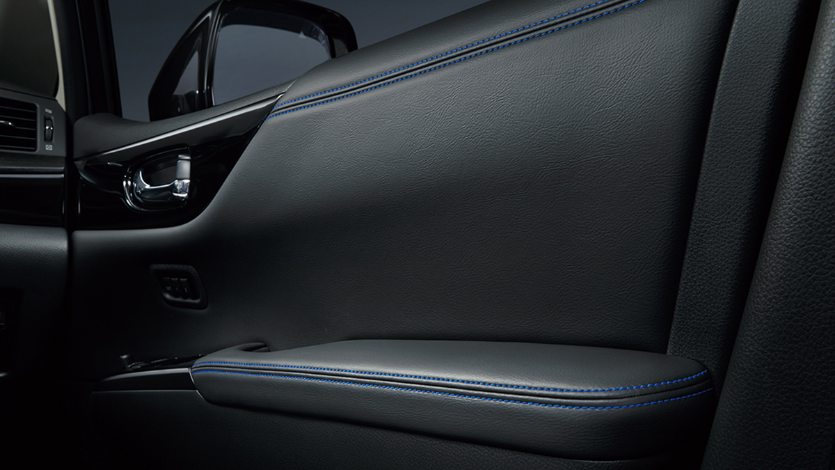 The Nissan Elgrand Door Interior