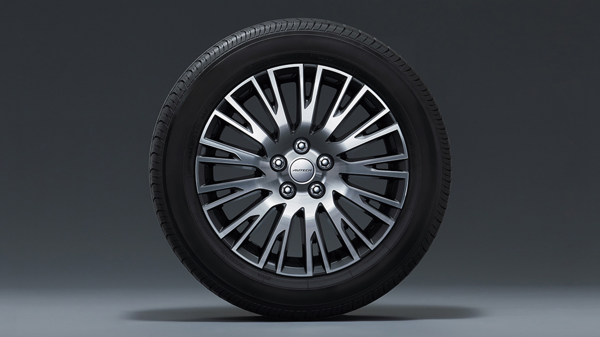 The Nissan Elgrand Tire