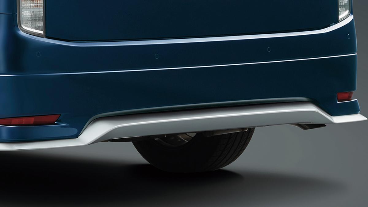The Nissan Elgrand Rear Bumper