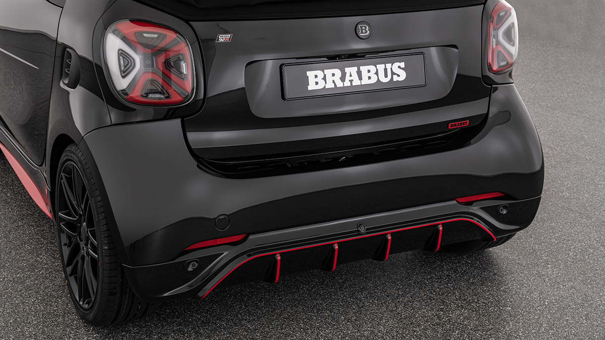 The Brabus 92R Rear Bumper