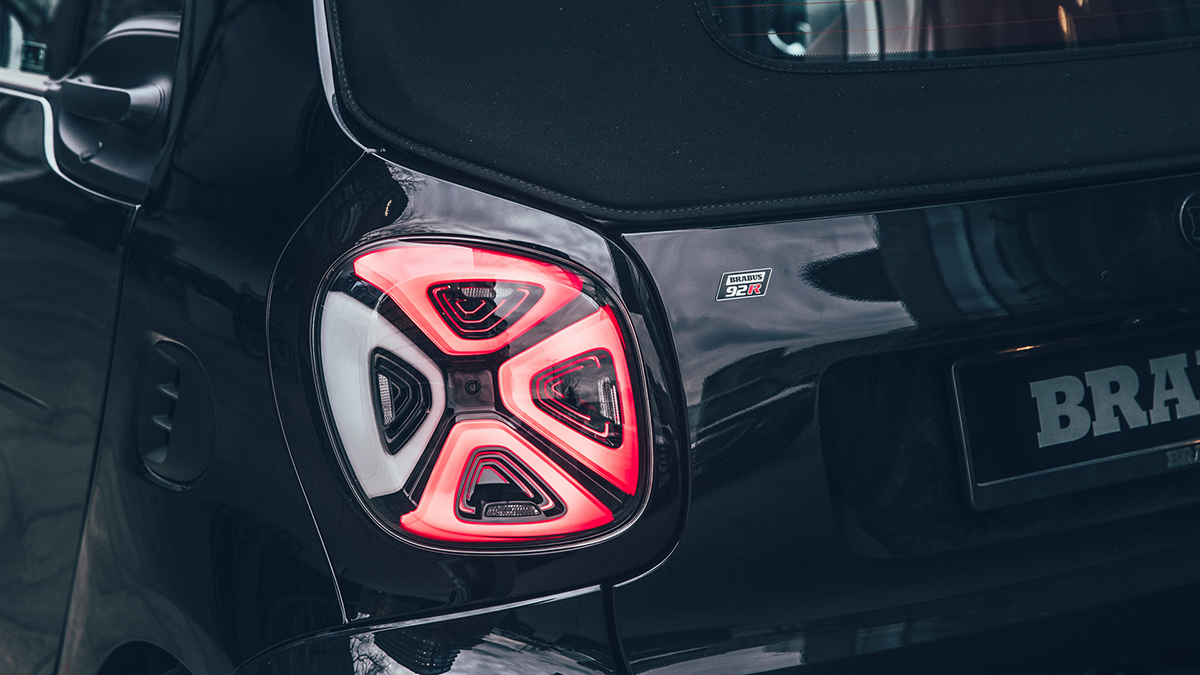 The Brabus 92R Tail Light
