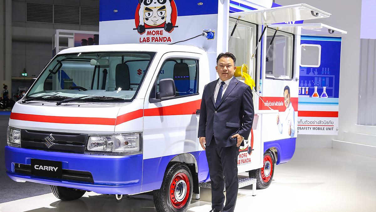 The Suzuki Carry Biosafety Mobile
