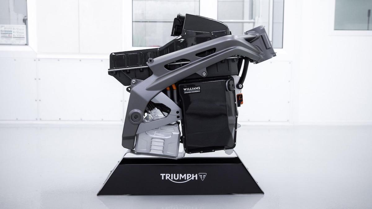 Project Triumph TE-1 Engine