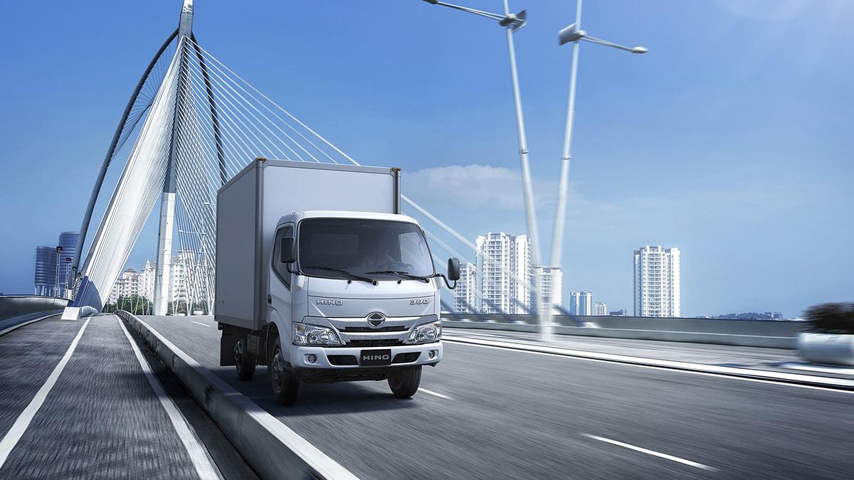 The New Hino Truck