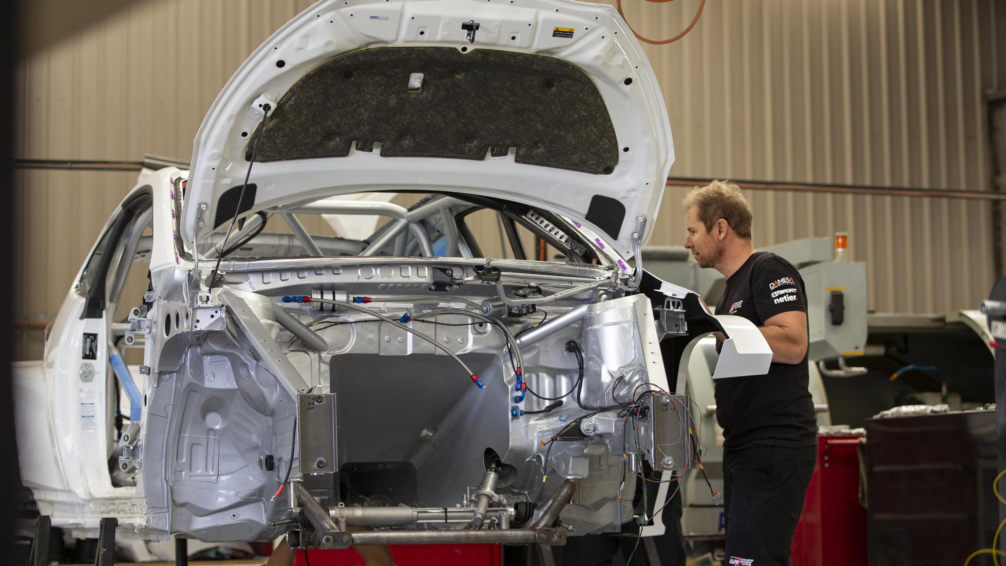The Toyota GR Yaris AP4 Being Assembled