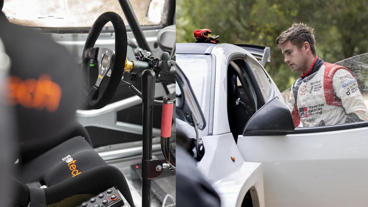 The Toyota GR Yaris AP4 Rally Car Test Driven