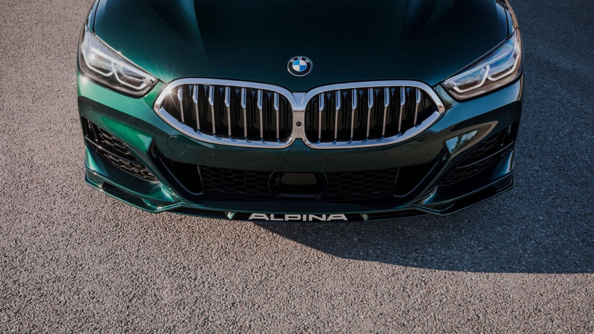 The Alpina B8 Gran Coupe Front Grille