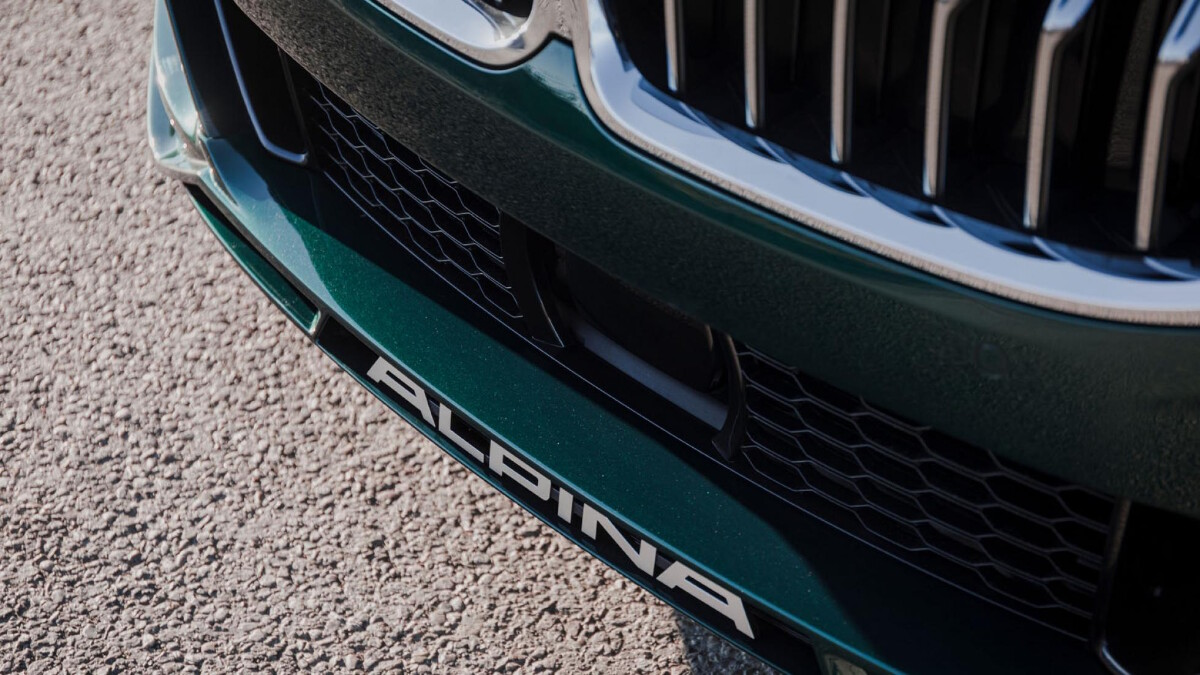 The Alpina B8 Gran Coupe Front Detail