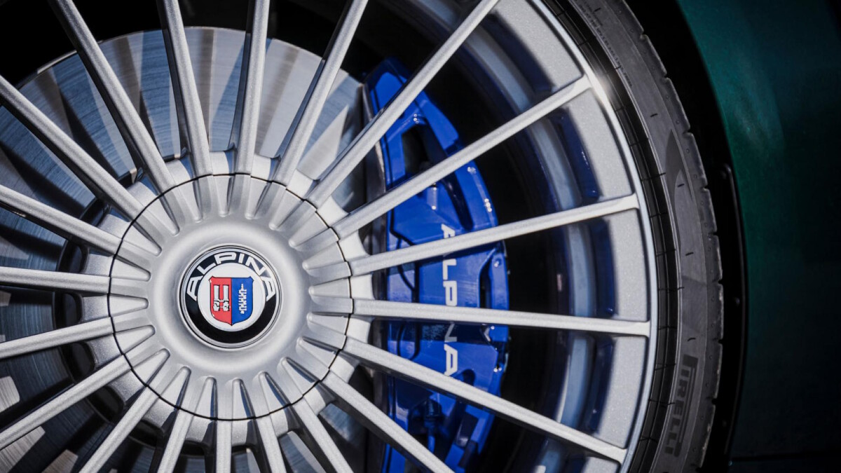 The Alpina B8 Gran Coupe Tire Detail