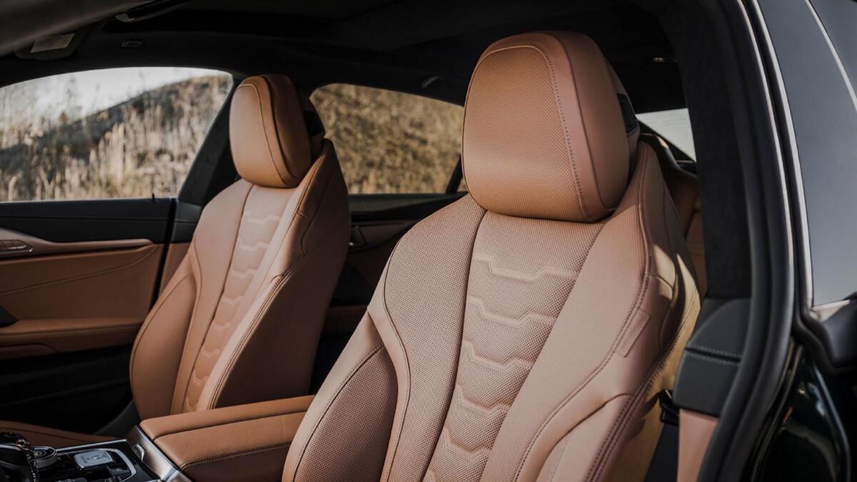 The Alpina B8 Gran Coupe Front Passenger Seats