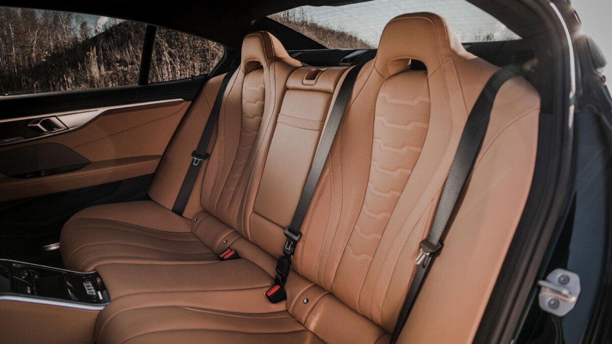 The Alpina B8 Gran Coupe Rear Passenger Seats