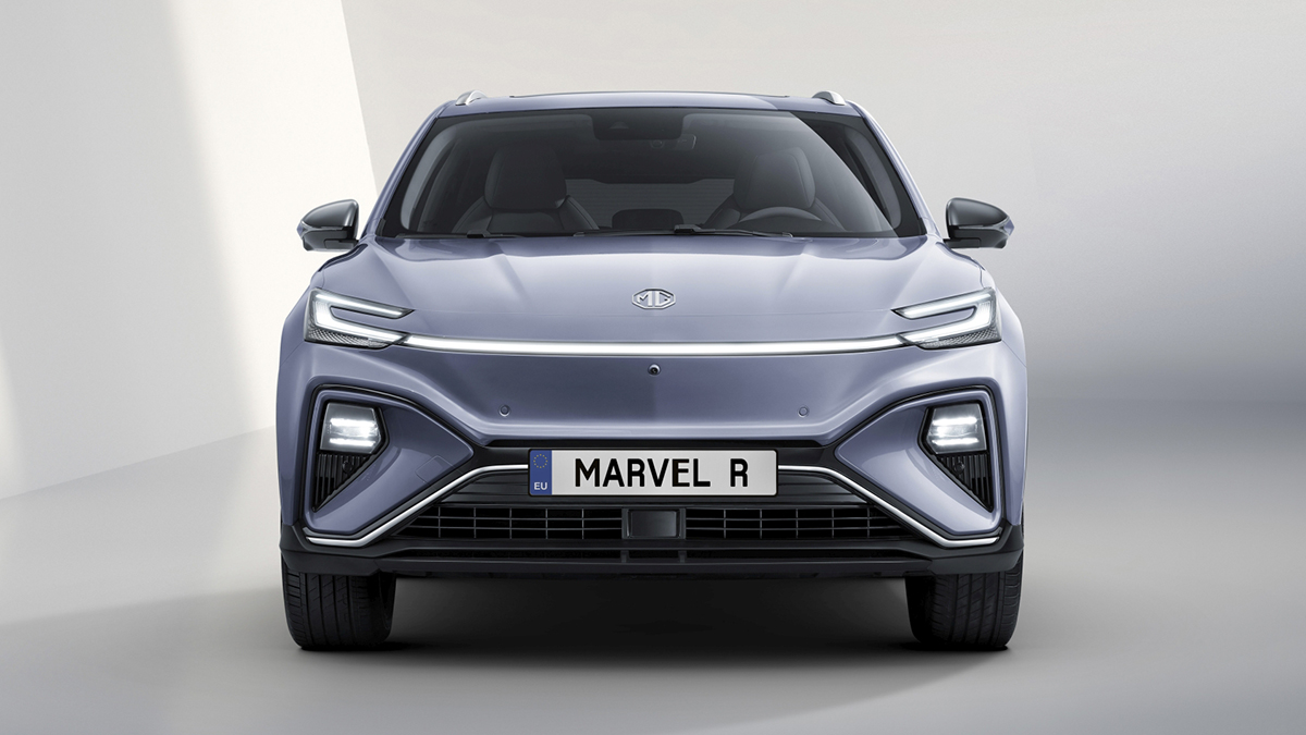 The MG Marvel R Electric Front View
